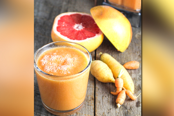 Carrot and Grapefruit Smoothie